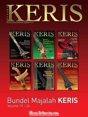 Majalah Keris Book vol. 19-24