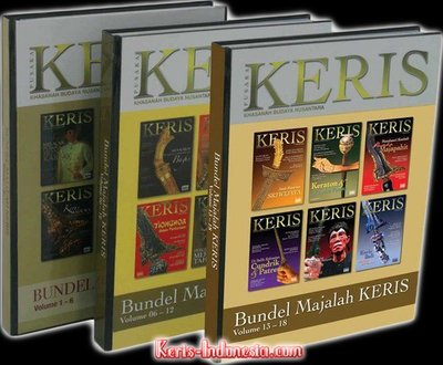 Majalah Keris Book vol. 13-18