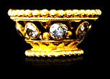 Golden Ring for Keris ('Mendak')