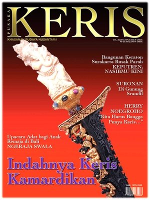 Majalah Keris vol. 29 – Indahnya Keris Kamardikan ('The Beauty of the Contemporary Keris')