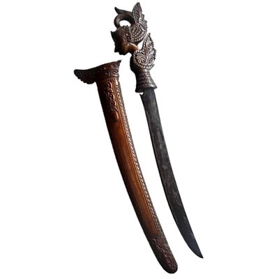 Pedang Gatotkaca Sword from 19th Century Lombok/Bali