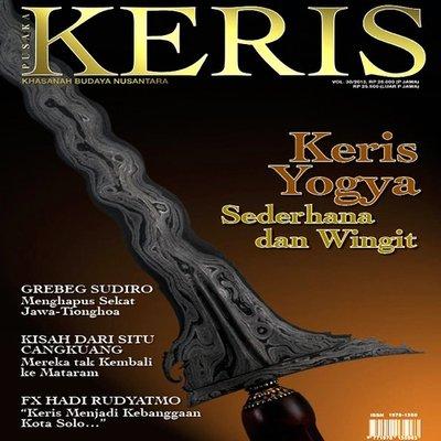 Majalah Keris vol. 30: 'Keris Yogya'