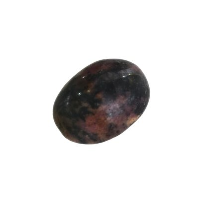 Black Agate Mustika Gemstone