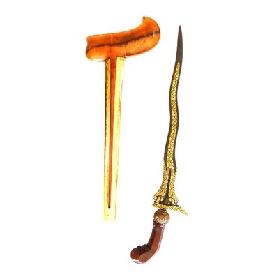 Keris Kamardikan Karno Tinanding Luk 5 – A Modern Keris of the Highest Standard