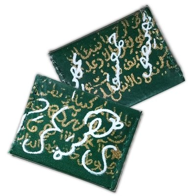 Magic Money Taweez with Good Luck Coin wrapped in Sacred Green Cloth