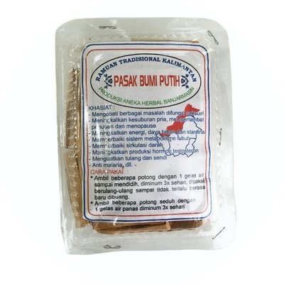 Traditional Indonesian Aphrodisiac Medicine of Long Jack Plant Roots