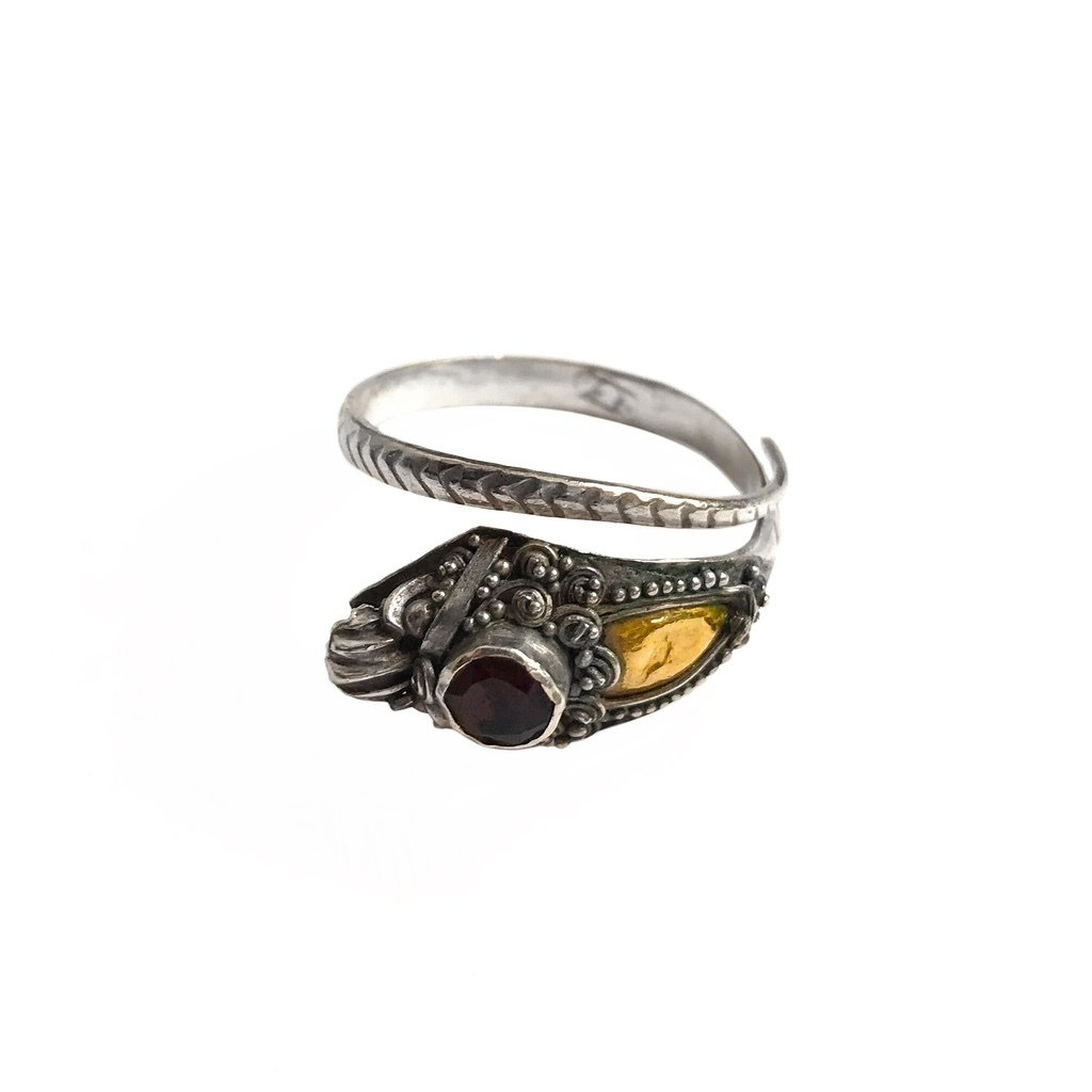 Silver Snake Ring from Bali