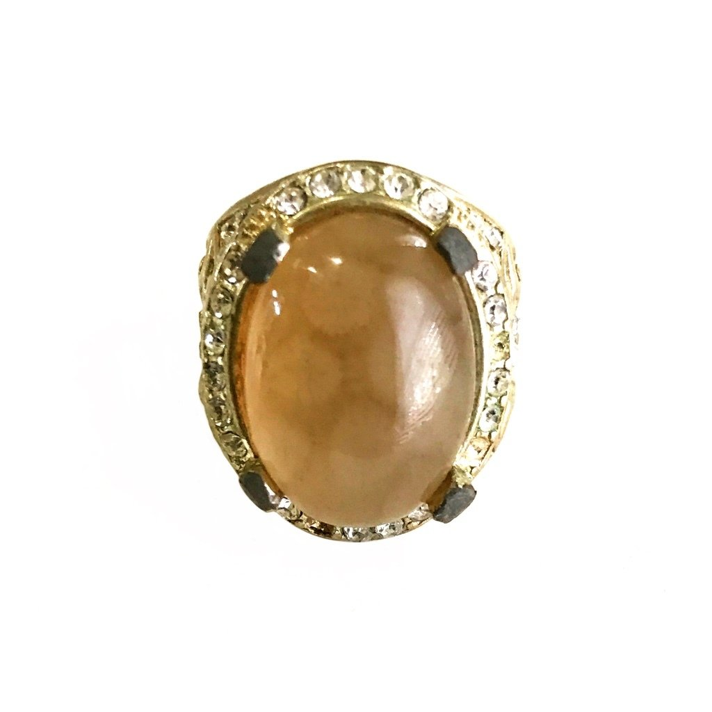 Fossilized Coral Agate Gem
