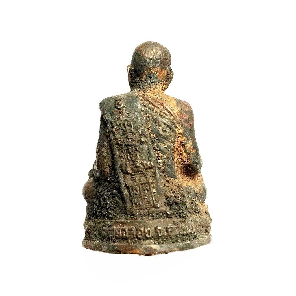 Thai Buddhist master monk statuette
