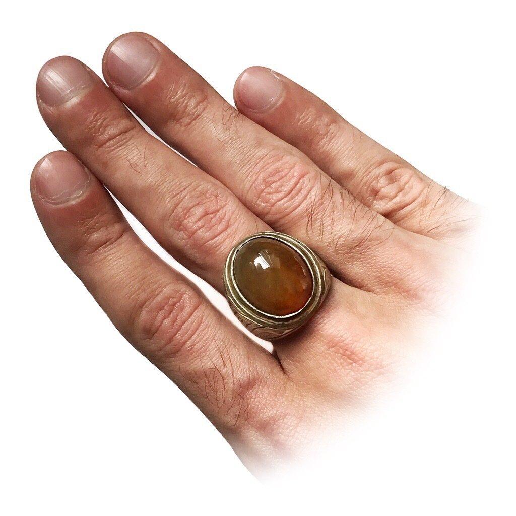 Carnelian Talisman Ring