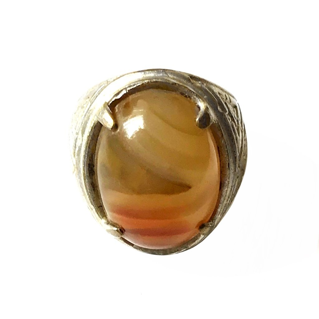 Indonesian Agate Ring