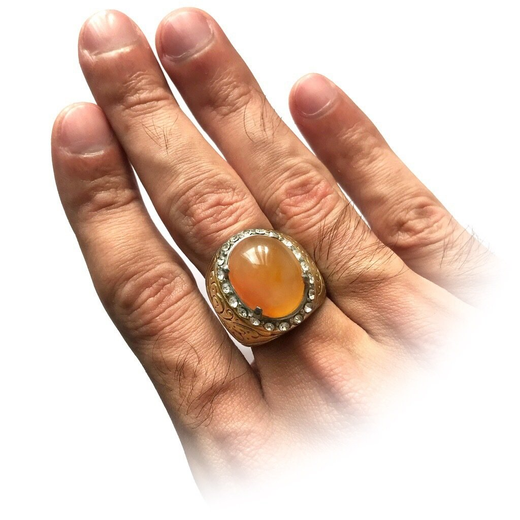 Real Agate Gemstone Talisman