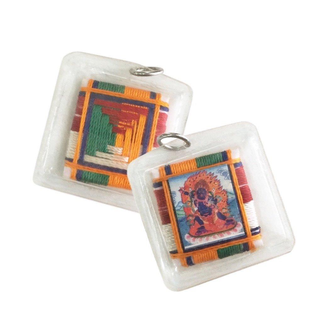 Fierce Bodhisattva Amulet of the Transcendent Conqueror Vajrapani