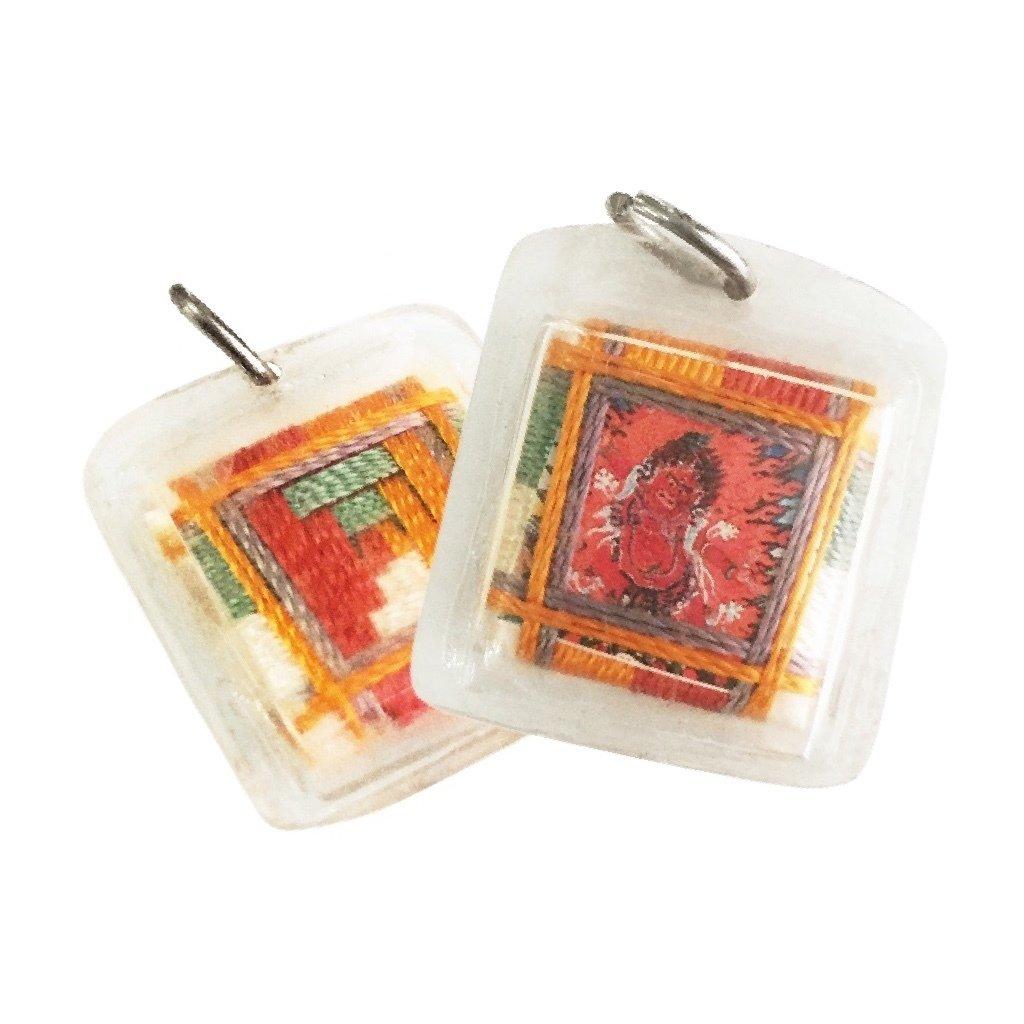 Esoteric Buddhist Sungkhor Locket of the Wrathful Heruka Hayagriva Deity of Enlightened Speech