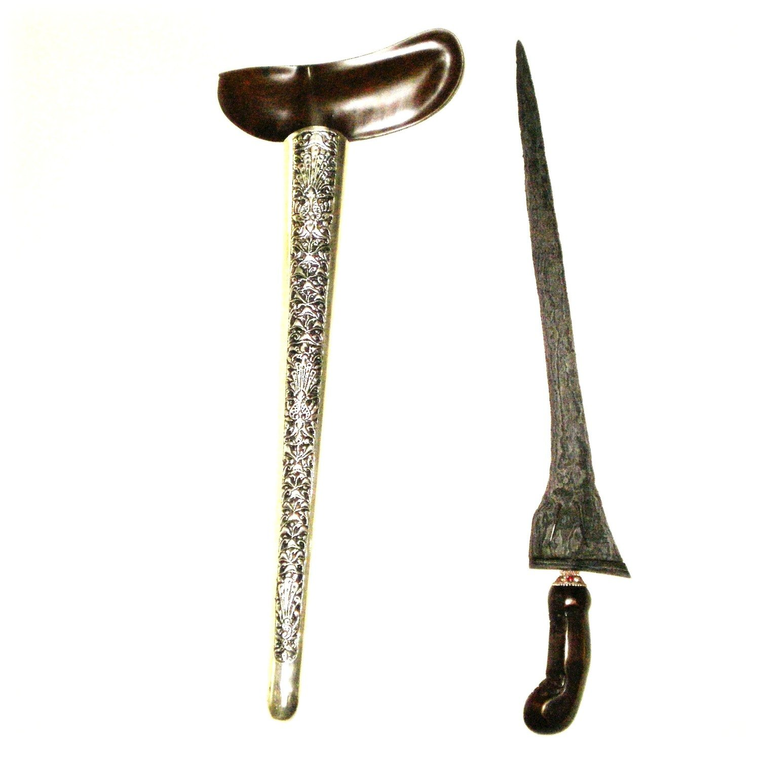 Keris Mahesa Lajer with Pamor Wos Wutah - A Traditional Javanese Pusaka from the 16th Century