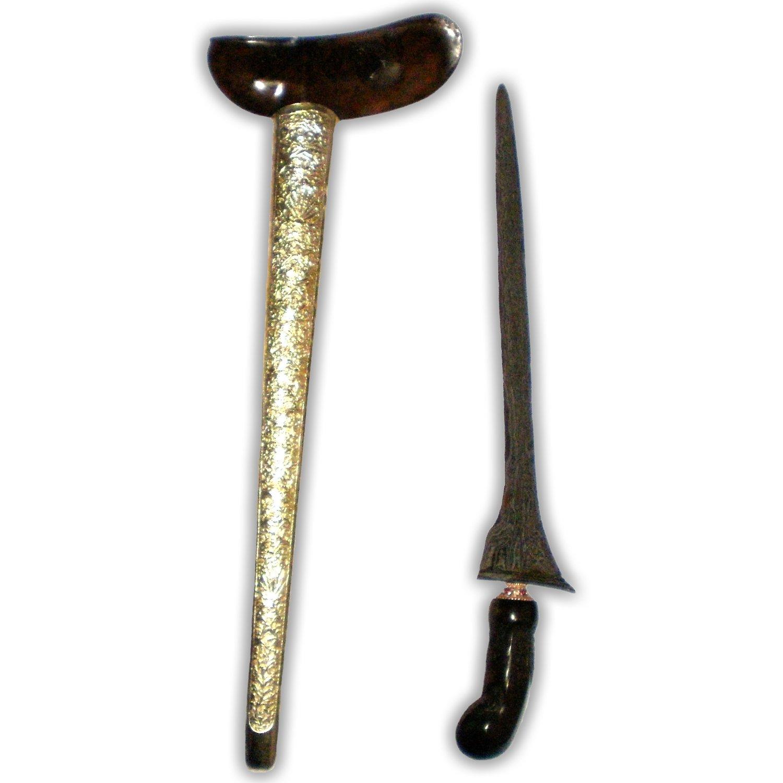 Keris Jalak Sangu Tumpeng from the Tangguh Singosari Era (13th Century)