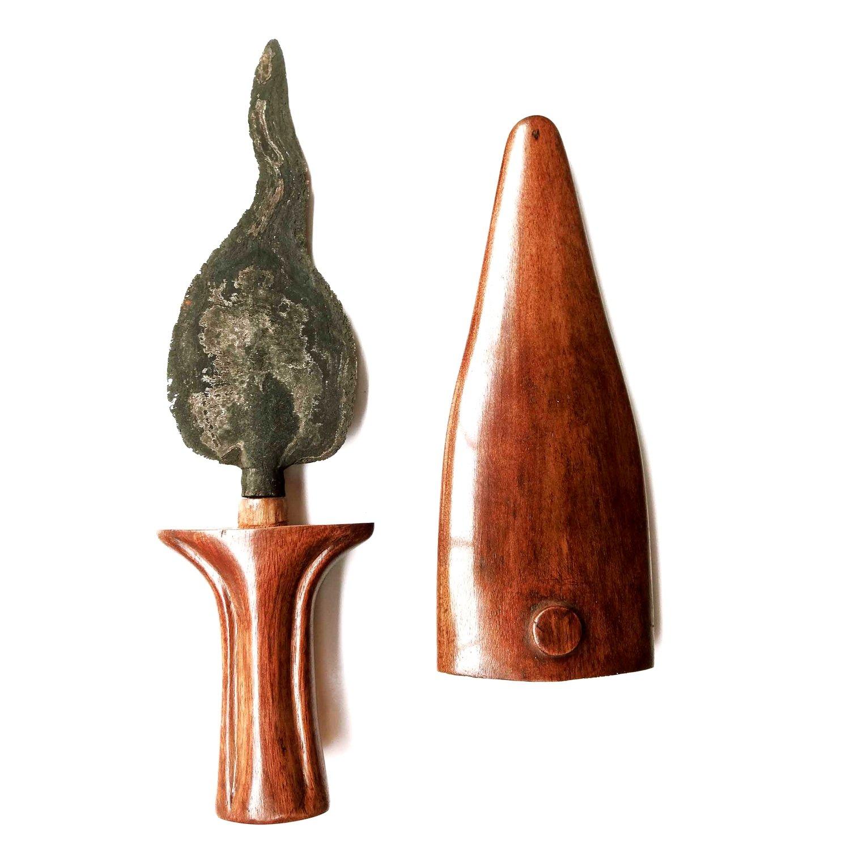 Tombak Banyak Angrem Spear from the Tangguh Kediri Era (10th-13th Century)