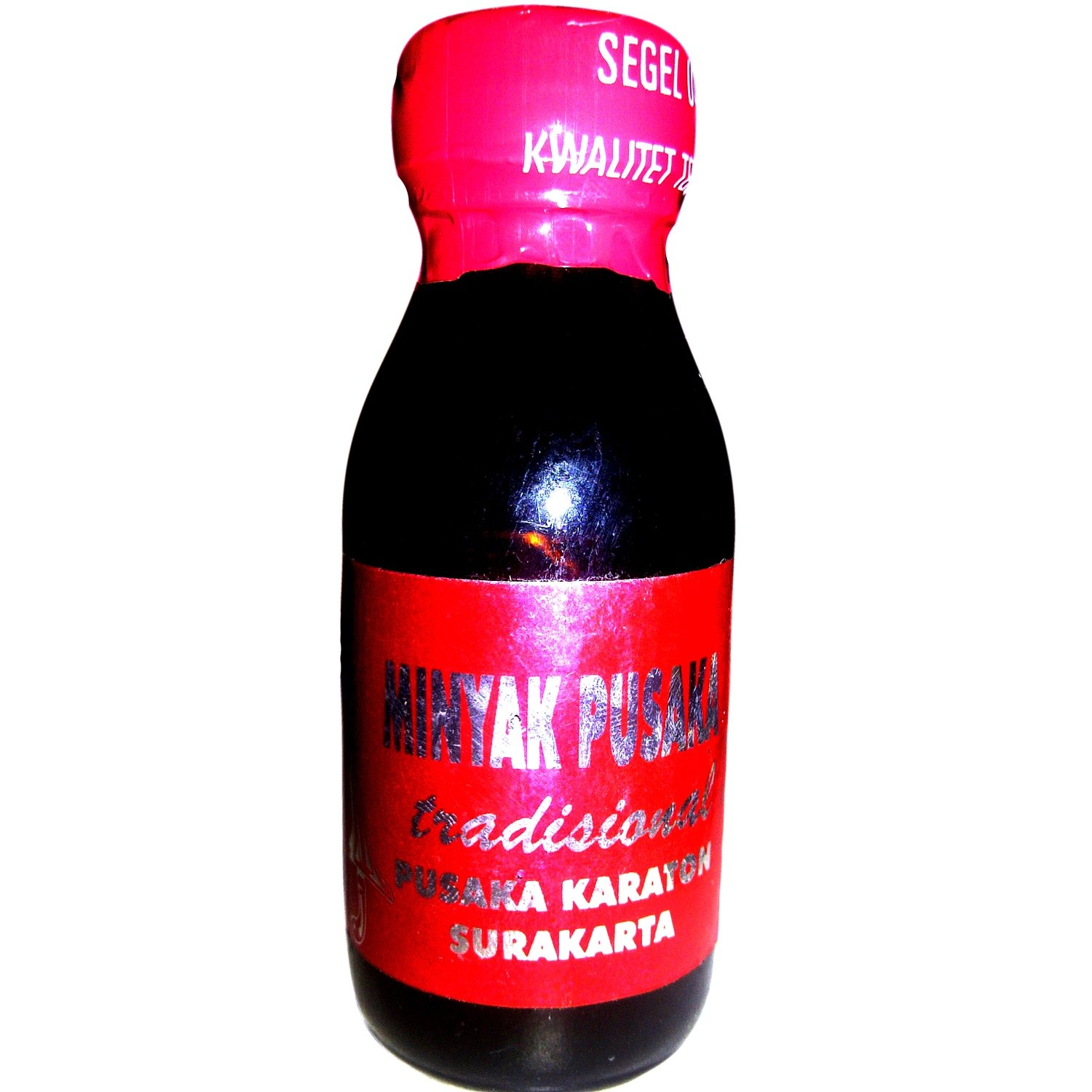 Traditional Pusaka Oil from the Keraton of Surakarta