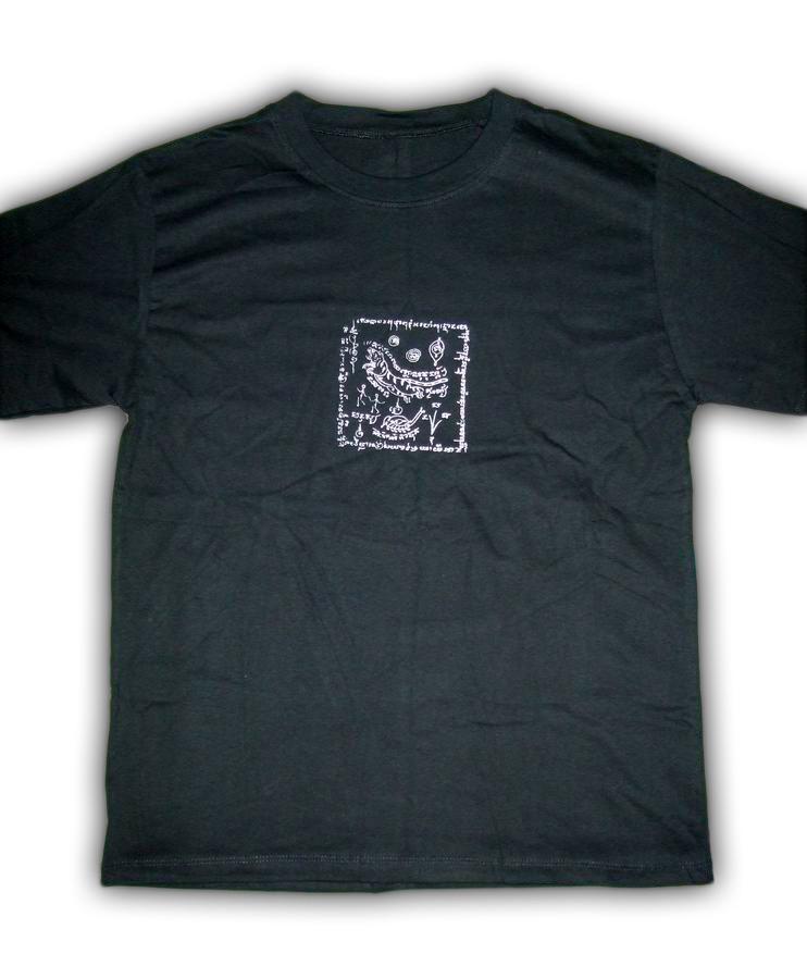 Pha Yant T-shirt - LP Chom, Wat Klang Khun Phaen