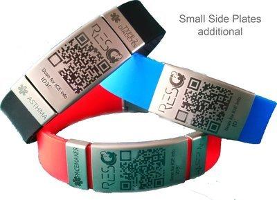 QR Bracelet with Plate
