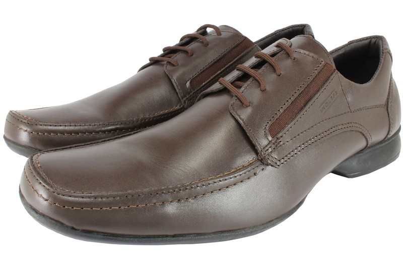 Mens Shoes Genuine Leather Brown - SUGGESTED RETAIL PRICE $45.00 - WHOLESALE PRICE $8 - Minimum purchase 11 pairs