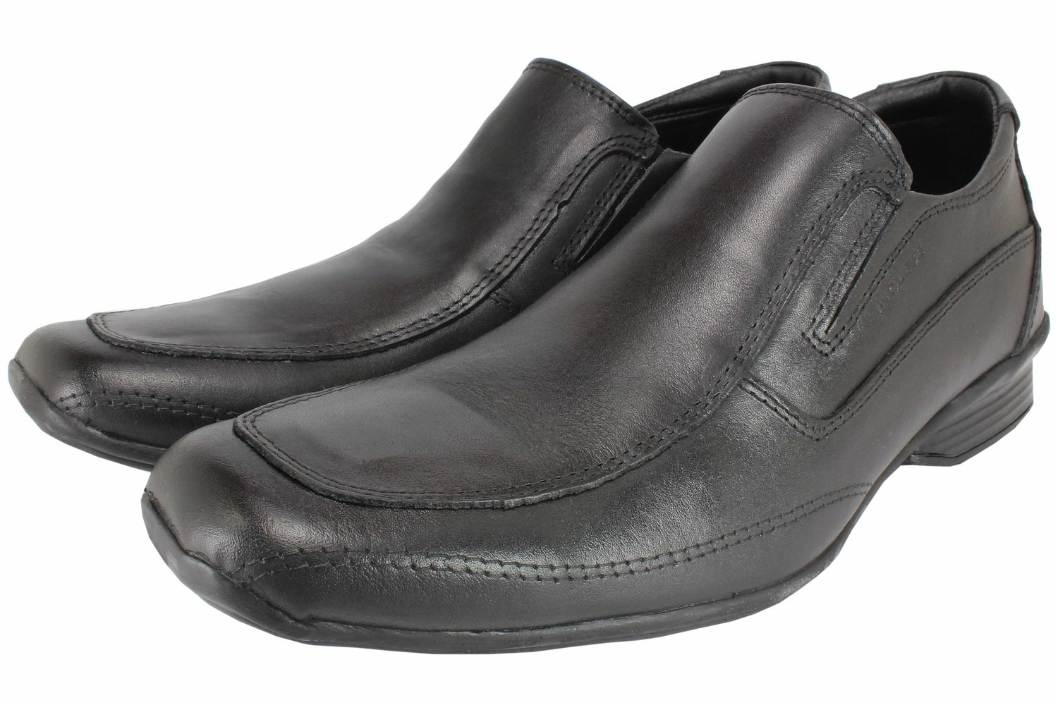 Mens Shoes Genuine Leather Black - SUGGESTED RETAIL PRICE $45.00 - WHOLESALE PRICE $8 - Minimum purchase 11 pairs
