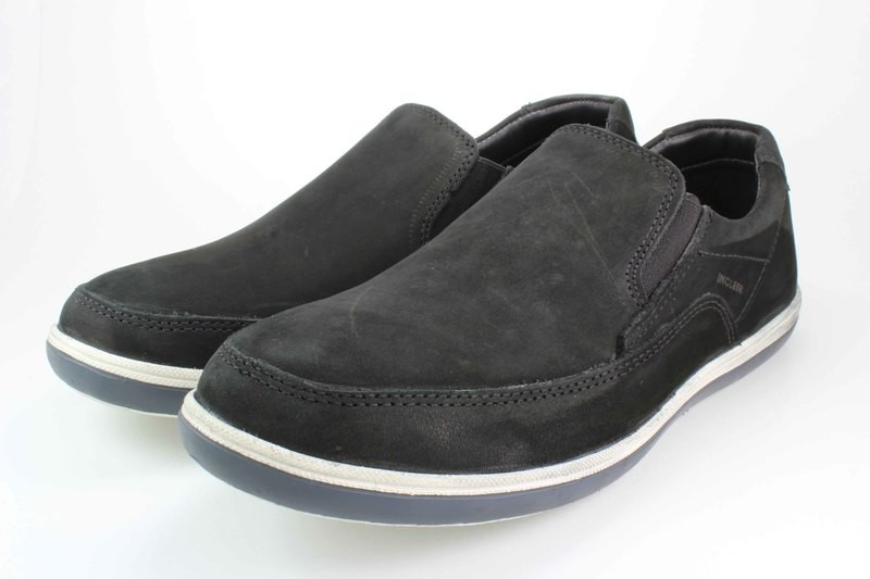 Mens Shoes Genuine Nubuck Leather Black - SUGGESTED RETAIL PRICE $45.00 - WHOLESALE PRICE $10 - Minimum purchase 11