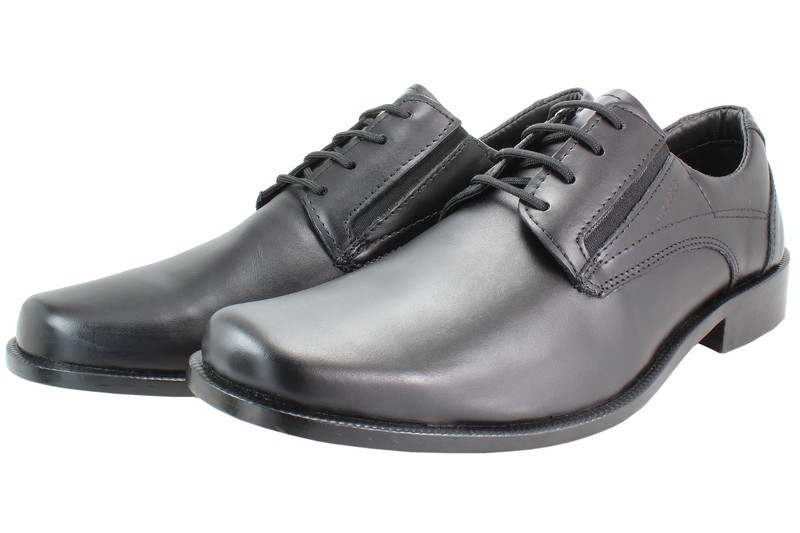 Mens Shoes Genuine Leather Black - SUGGESTED RETAIL PRICE $45.00 - WHOLESALE PRICE $10 - Minimum purchase 6