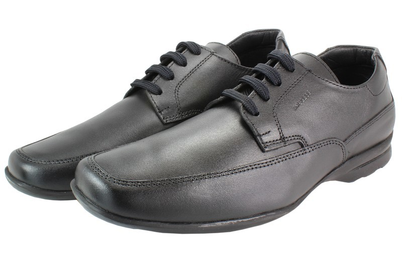 Mens Shoes Genuine Leather Black - SUGGESTED RETAIL PRICE $45.00 - WHOLESALE PRICE $8 - Minimum purchase 10 pairs