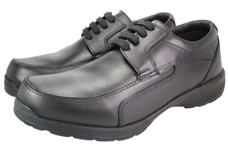 Mens Shoes Genuine Leather Black - SUGGESTED RETAIL PRICE $45.00 - WHOLESALE PRICE $9 - Minimum purchase 10 pairs