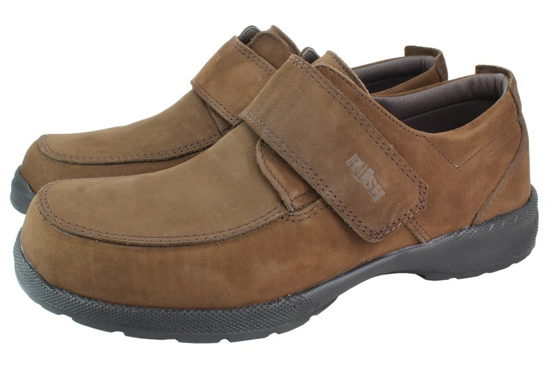 Mens Shoes Genuine Nubuck Leather Brown - SUGGESTED RETAIL PRICE $45.00 - WHOLESALE PRICE $9.5 - Minimum purchase 12pairs