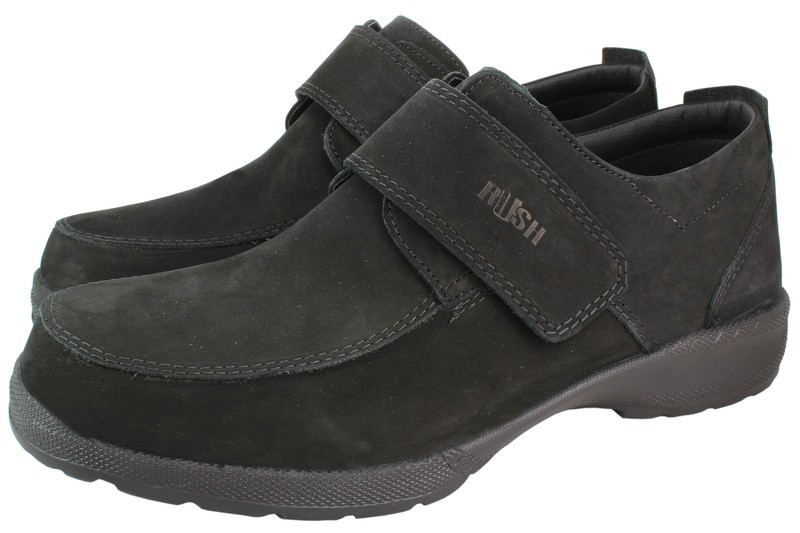 Mens Shoes Genuine Nubuck Leather Black - SUGGESTED RETAIL PRICE $45.00 - WHOLESALE PRICE $9.5 - Minimum purchase 11 - pairs