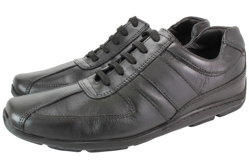 Mens Shoes Genuine Leather Black - SUGGESTED RETAIL PRICE $45.00 - WHOLESALE PRICE $8 - Minimum purchase 11