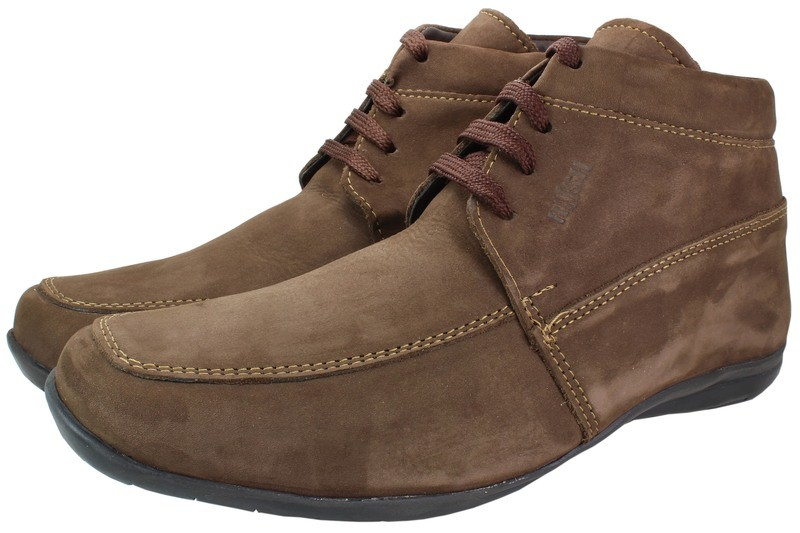 Mens Boots Genuine Nubuck Leather Light Brown - SUGGESTED RETAIL PRICE $45.00 - WHOLESALE PRICE $8.75 - Minimum purchase 12 pairs