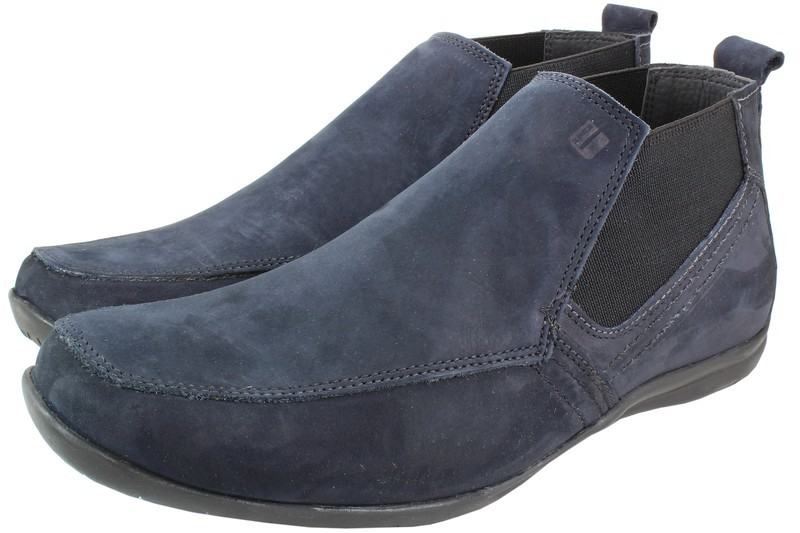 Mens Boots Genuine Suede Leather Blue - SUGGESTED RETAIL PRICE $45.00 - WHOLESALE PRICE $8.75 - Minimum purchase 11pairs