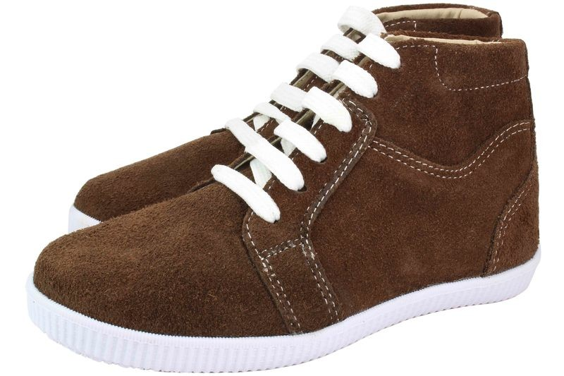 Boys Boots Genuine Suede Leather Light Brown - SUGGESTED RETAIL PRICE $30.00 - WHOLESALE PRICE $5 - Minimum purchase 11 pairs