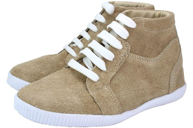 Boys Shoes Genuine Suede Leather Beige - SUGGESTED RETAIL PRICE $30.00 - WHOLESALE PRICE $5 - Minimum purchase 10pairs