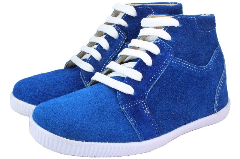 Boys Shoes Genuine Suede Leather Blue - SUGGESTED RETAIL PRICE $30.00 - WHOLESALE PRICE $5 - Minimum purchase 10pairs