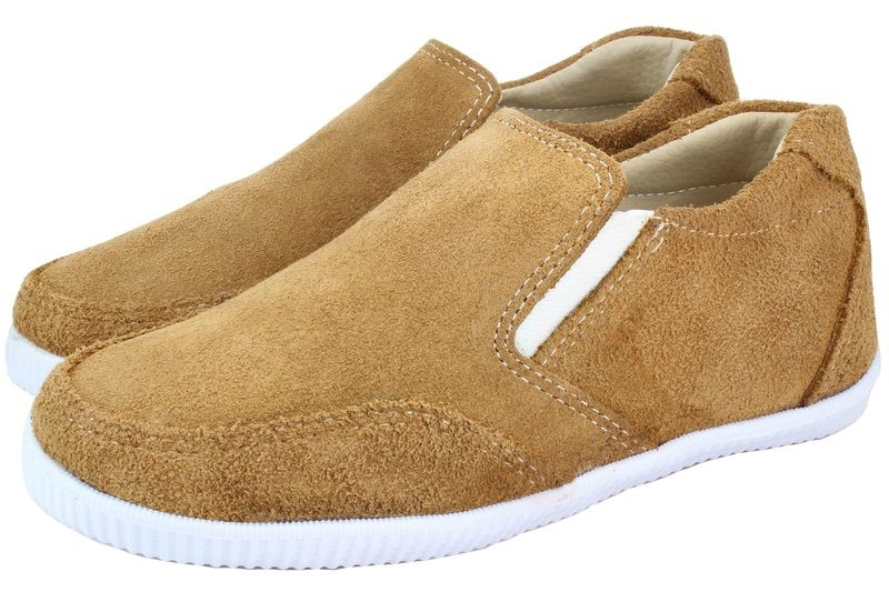 Boys Shoes Genuine Suede Leather Light Brown - SUGGESTED RETAIL PRICE $30 - WHOLESALE PRICE $5 - Minimum purchase 10 pairs