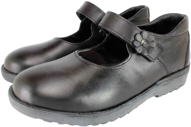 Girls Shoes Genuine Leather Black - SUGGESTED RETAIL PRICE $30.00 - WHOLESALE PRICE $6.5 - Minimum purchase 14 pairs