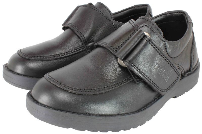 Boys Shoes Genuine Leather Black - SUGGESTED RETAIL PRICE $30.00 - WHOLESALE PRICE $6.5 - Minimum purchase 14 pairs