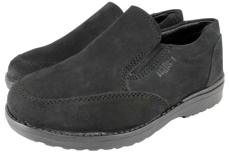 Boys Shoes Genuine Nubuck Leather Black - SUGGESTED RETAIL PRICE $35.00 - WHOLESALE PRICE $7.5 - Minimum purchase 14-pairs