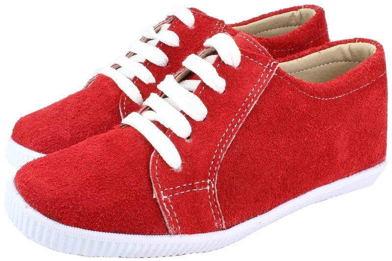 Boys Shoes Genuine Suede Leather Red - SUGGESTED RETAIL PRICE $30.00 - WHOLESALE PRICE $5 - Minimum purchase 11 pairs