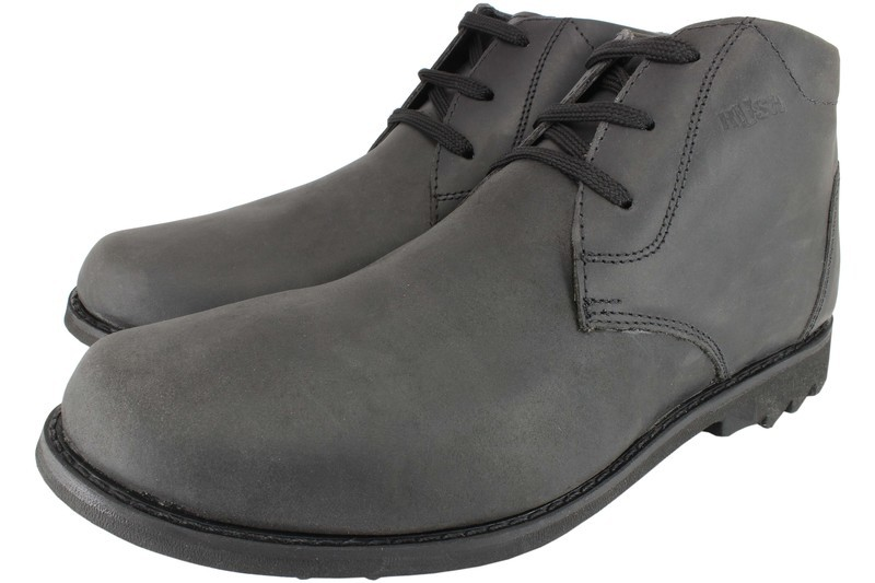 Mens Boots Genuine Oiled Leather Black - SUGGESTED RETAIL PRICE $45.00 - WHOLESALE PRICE $10- Minimum purchase 12pairs