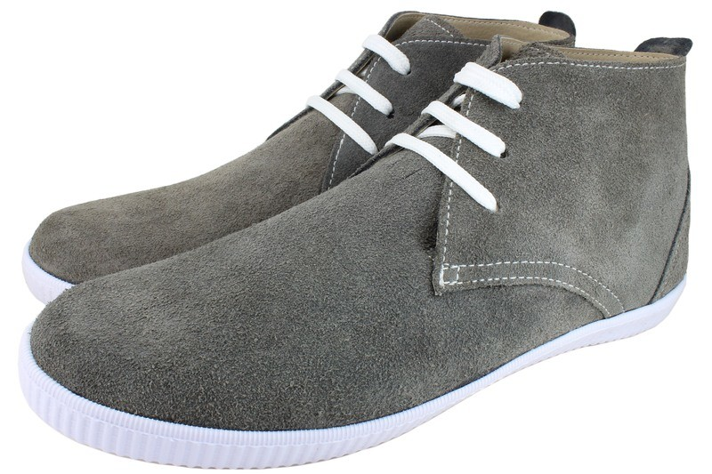 Mens Shoes Genuine Suede LeatherGrey - SUGGESTED RETAIL PRICE $45.00 - WHOLESALE PRICE $8.25 - Minimum purchase 11