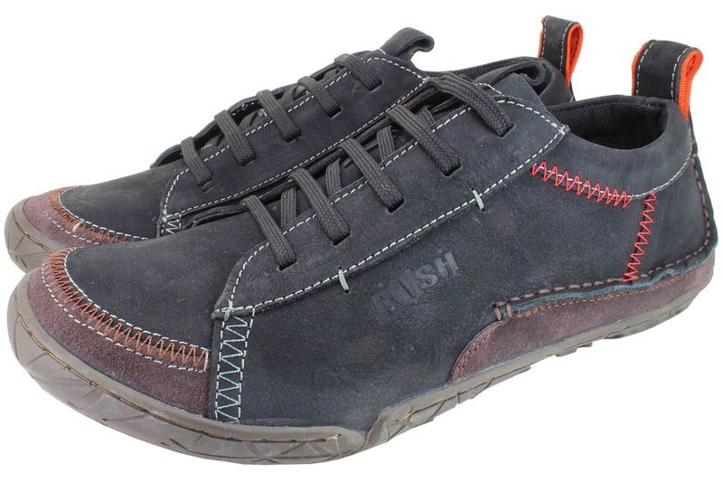 Mens Shoes Genuine Nubuck Leather Black - SUGGESTED RETAIL PRICE $45.00 - WHOLESALE PRICE $8 - Minimum purchase 9 pairs