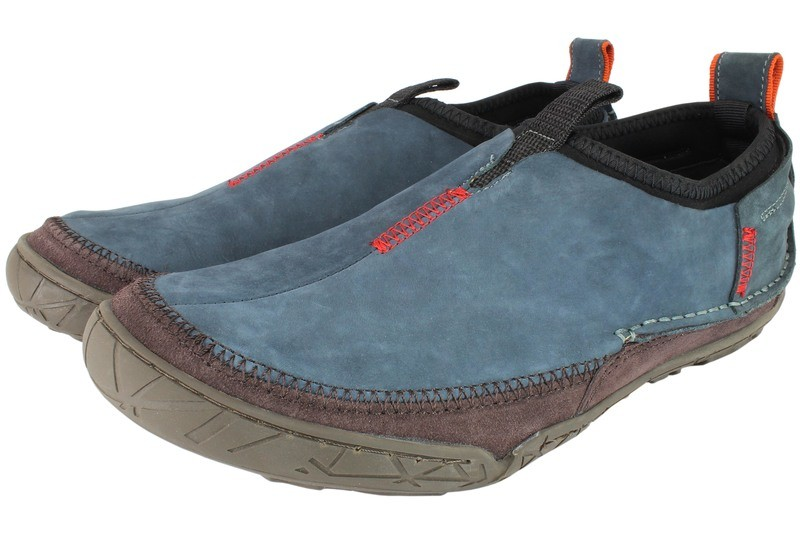 Mens Shoes Genuine Nubuck Leather Blue - SUGGESTED RETAIL PRICE $45.00 - WHOLESALE PRICE $8 - Minimum purchase 9pairs