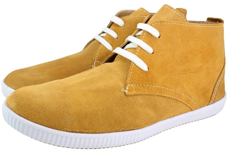 Mens Boots Genuine Suede Leather Light Brown - SUGGESTED RETAIL PRICE $45.00 - WHOLESALE PRICE $8.25 - Minimum purchase 11 pairs