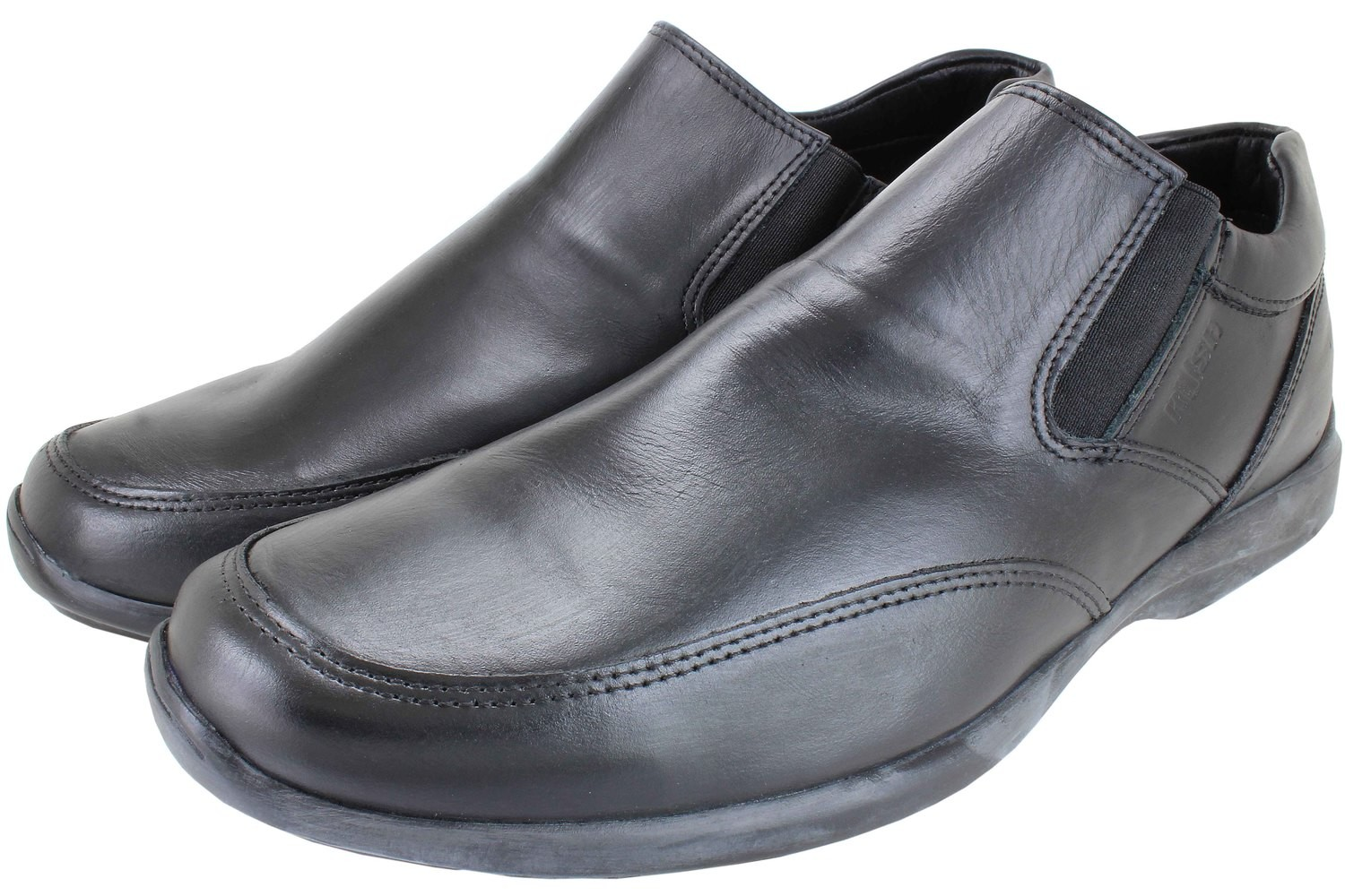 Mens Shoes Genuine Leather Black - SUGGESTED RETAIL PRICE $45.00 - WHOLESALE PRICE $9.5 - Minimum purchase 11