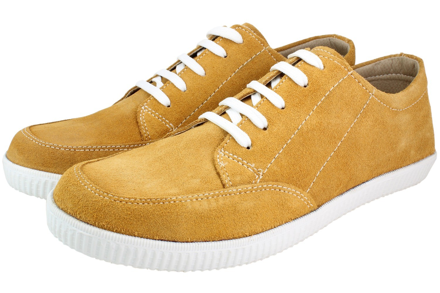 Mens Shoes Genuine Suede Leather Light Brown - SUGGESTED RETAIL PRICE $45 - WHOLESALE PRICE $7 - Minimum purchase 11 pairs